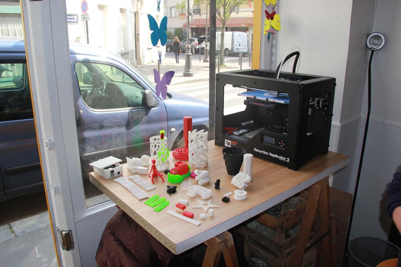Imprimantes et Objets