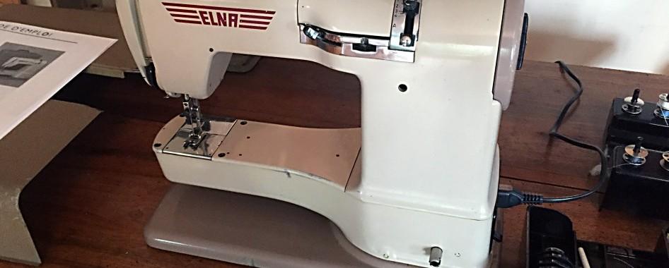 Remise en route d une machine a coudre elna supermatic for Machine a coudre 2015